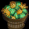 Emerald Pineapple Bushel-icon