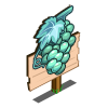 Frozen Grapes Mastery Sign-icon