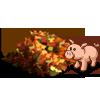 Leaf Pile Pig-icon