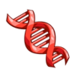 Red DNA-icon