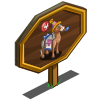 4th Birthday Mare Mastery Sign-icon