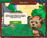 Dog Care Notification