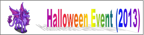 Halloween Event (2013) Event Banner