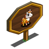 Mini Candy Corn Foal Mastery Sign-icon