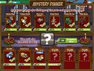 Mystery Dinner Countdown Day 9