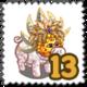 Nature Green Piggy Stamp-icon