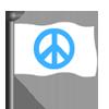 Peace Flag-icon