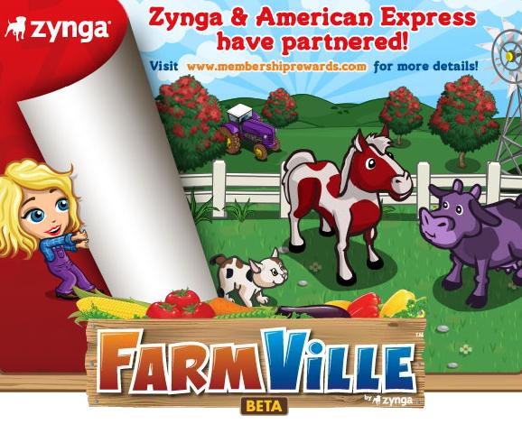 Zynga and American Express Partnership Loadbar