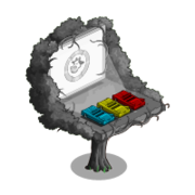 Drive in Tree-icon