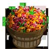 Fleur De Lis Bushel-icon
