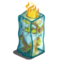 Frozen Fire Gnome-icon