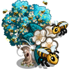 Giant Bumble Bee Tree-icon
