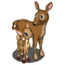 Mother Doe and Fawn-icon