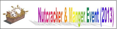 Nutcracker and Manger Event (2013) Event Banner