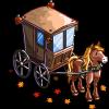 Vintage Autumn Cart-icon