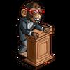 Chimpanzee Politician-icon