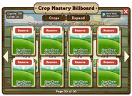 Crop Mastery Billboard Inside
