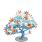 Frozen Fire Tree-icon