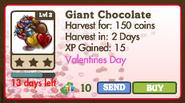 Giant Chocolate Heart Tree Market Info
