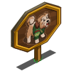 Green Sweater Terrier Mastery Sign-icon