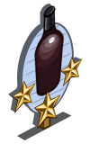 Red Table Wine 3 Star Mastery Sign-icon