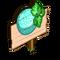 Aqua Cantaloupe Mastery Sign-icon