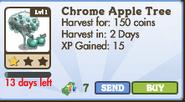 Chrome Apple Tree Market Info (January 2012)