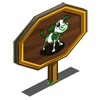 Green Patch Calf Mastery Sign-icon