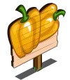 Yellow Bell Peppers Mastery Sign-icon
