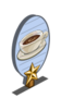 Coffee & Cream 1 Star Mastery Sign-icon