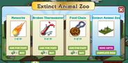 Extinct Animal Zoo Inside