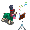 Go Caroling Dog-icon
