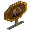 Javelina Mastery Sign-icon