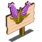Purple Sweet Corn Mastery Sign-icon