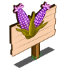 Purple Sweet Corn Mastery Sign-icon