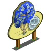 White Rose Tree Mastery Sign-icon
