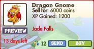 Dragon Gnome Market Info (June 2012)