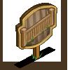 Pine Fence I Mastery Sign-icon