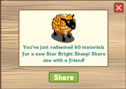 Star Bright Sheep Redeemed