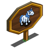 Blue Pony Foal Mastery Sign-icon