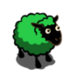 Lime Green Ewe-icon