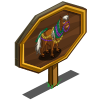 Beaded Pony Mastery Sign-icon