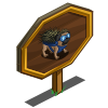 Porcupine Pug Mastery Sign-icon