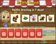 Raffle Booth November 14 2011