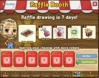 Raffle Booth November 21 2011