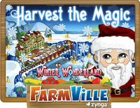 Winter Wonderland Harvest Loading Screen