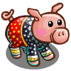 Flowered Chest Pig-icon