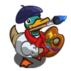 Painter Duck-icon