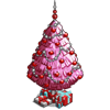 Pink Holiday Tree (decoration)-icon