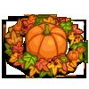 Pumpkin Fall Wreath-icon